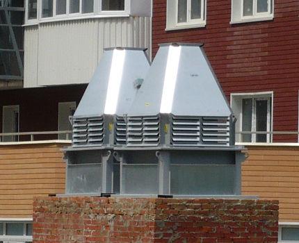 Brick Cup Roof Fan