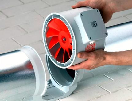 Kanāla ventilators