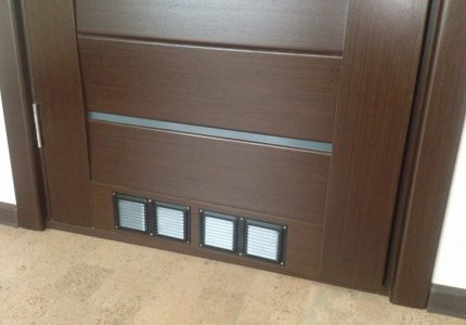 Decorative grille for additional airflow