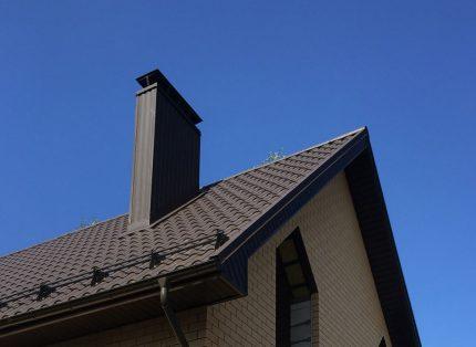 Boîte de conduit de ventilation de toit