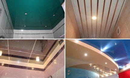 Matériaux de plafond