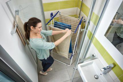 Shower dryer