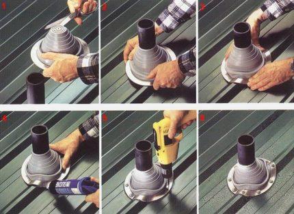 Procédure d'installation de l'adaptateur