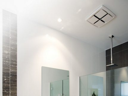 Beau ventilateur de plafond