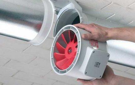 Ventilateur de gaine