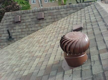 Aérateur de turbine de toit