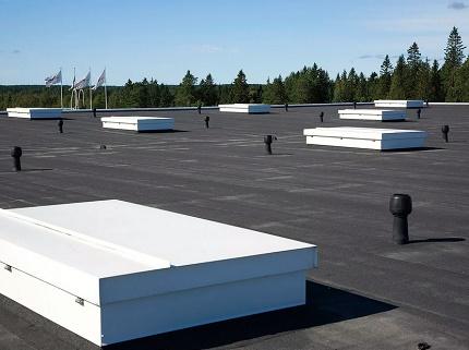 Ventilation de tarte de toit plat
