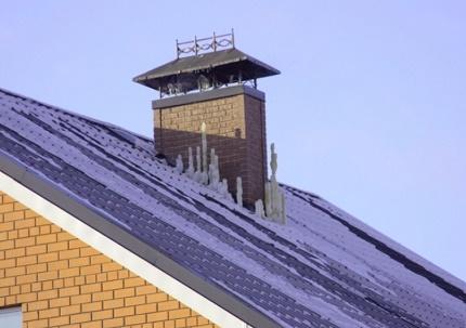 Gaine de ventilation de maison privée
