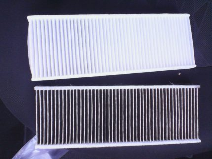 Filter before and after operation