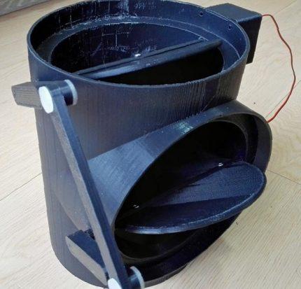Vanne (valve) pour la ventilation