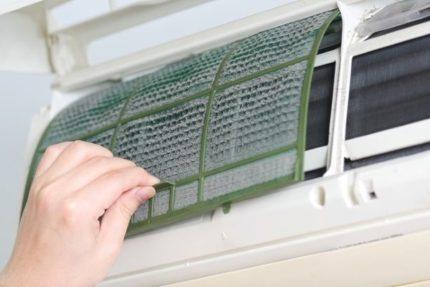 Air conditioner pre-filter