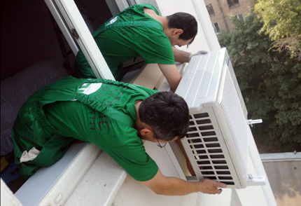 Manual removal of the air conditioner module