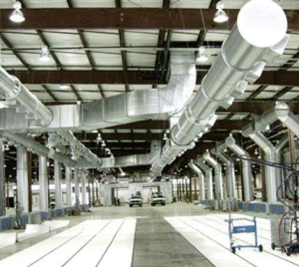 Rūpnīcas ventilācijas sistēma