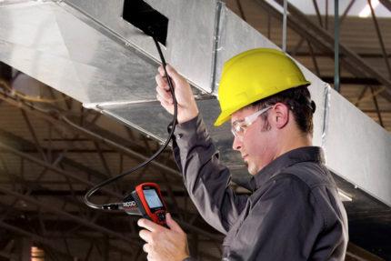 Pārbaudiet ventilācijas aprīkojumu