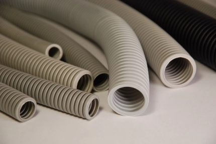 Corrugation for wiring