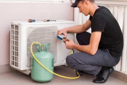 Freon in the air conditioner