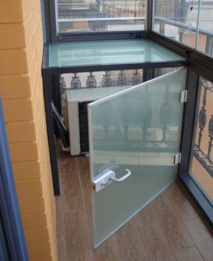 Organic glass box