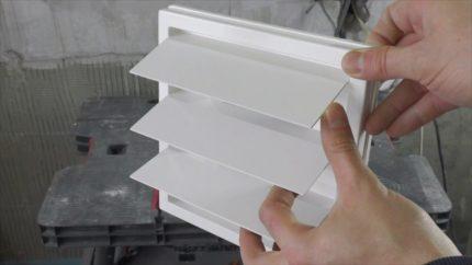 Inerces vārsts ventilācijai