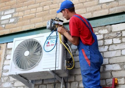 External unit of duct air conditioner