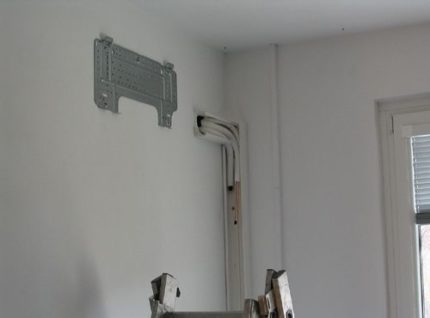 Place for air conditioner