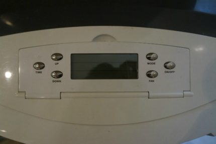 Beco air conditioning display