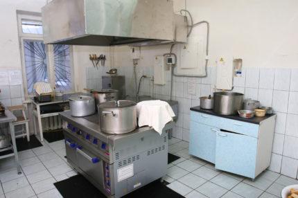 Virtuve ar kapuci