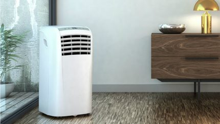 Floor air conditioner for summer cottage
