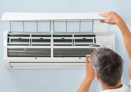 Self-service air conditioner