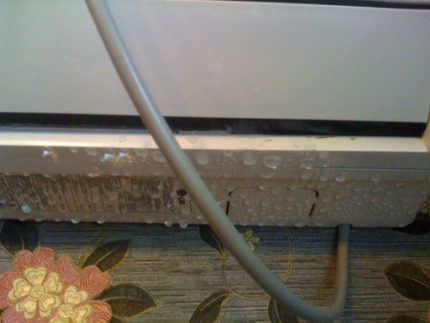 Humidifier drops