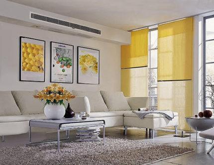 Indoor duct air conditioner