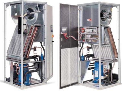 Freon precision air conditioners