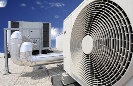 Le bruit de l'appareil de ventilation