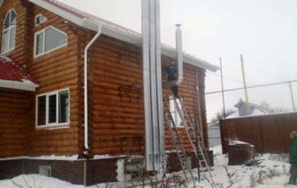 Ventilation de maison privée