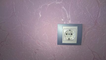 Normal outlet