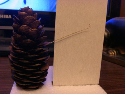 Hygrometer from cones