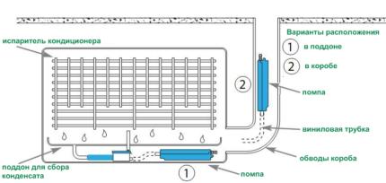Condensate drain system