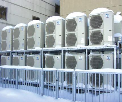 External unit of inverter air conditioner