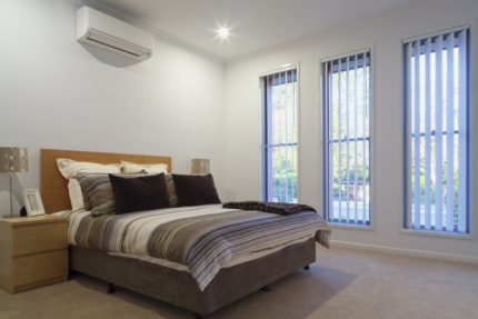 Air conditioning in the bedroom