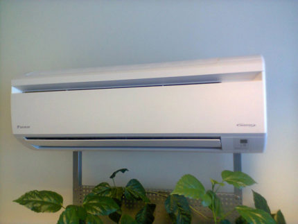 Air conditioning in the room