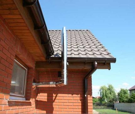 Mājas ventilācijas caurule
