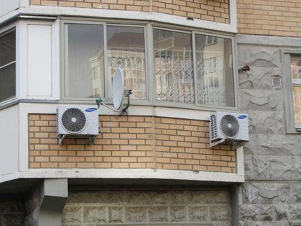 Parapet Air Conditioner