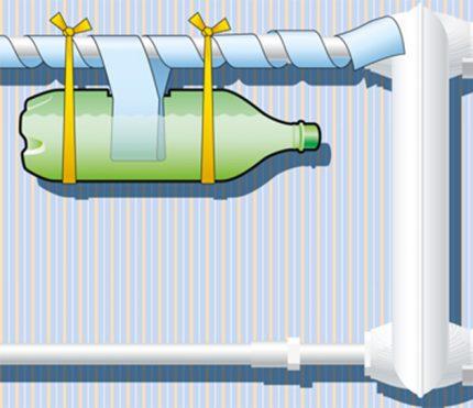Plastmasas pudeles iztvaicētājs