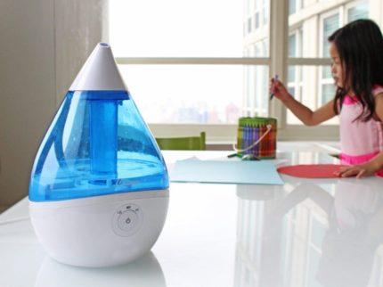 Air ionization in an apartment