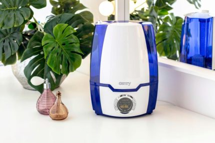 Residential humidifier with ionization function