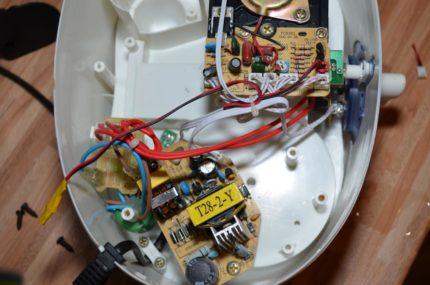 Disassembled humidifier