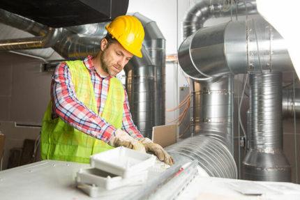 Installation of a ventilation system