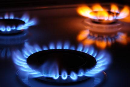 Fonctionnement de la cuisinière à gaz