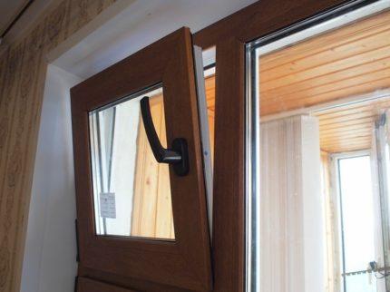 Fenêtre de ventilation