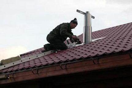 Roof fan mounting