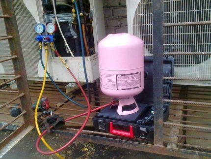 Air conditioner refill